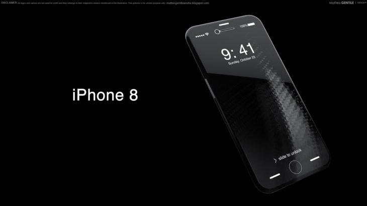 iPhone 8 : prix supérieur à 1000 $, tout tactile & meilleure batterie ?