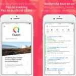 Qwant : le Google français disponible sur l'App Store