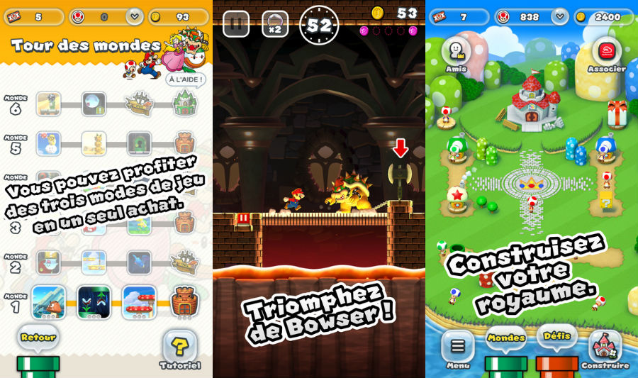 Super mario Run 1 1 - Super Mario Run : 78 millions de téléchargements et une version 1.1