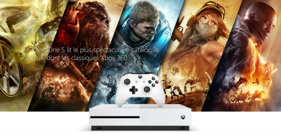 XBOX ONE S - Xbox Live Gold : 3 mois gratuits pour l'achat d'une Microsoft Xbox One S