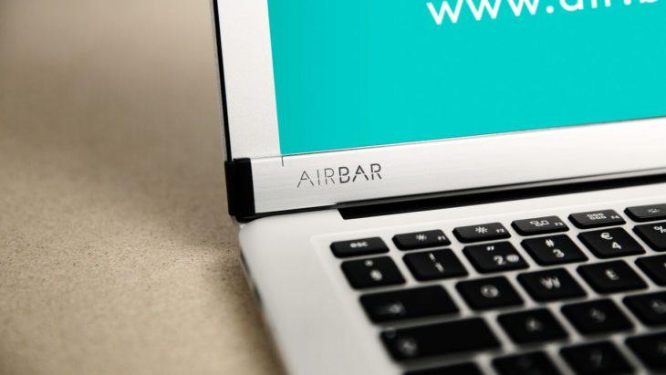 AirBar rend tactile l'écran du MacBook Air !