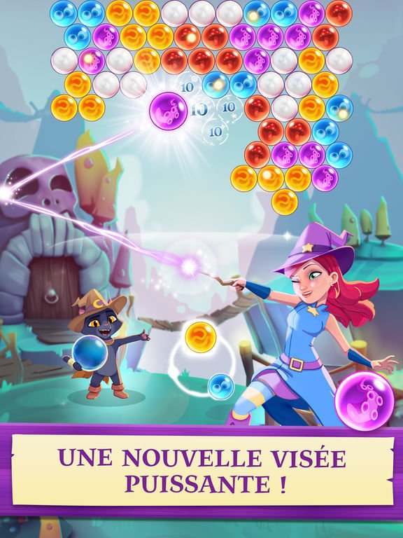bubble witch 3 saga - Bubble Witch 3 Saga disponible sur iOS & Android