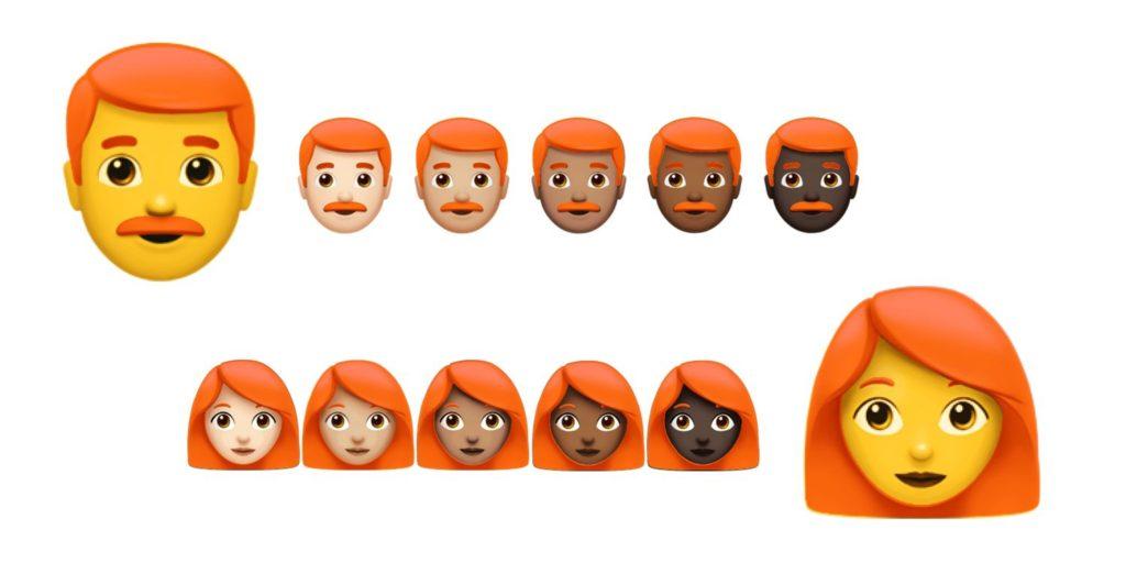 emoji roux ios 1024x512 - Apple va bientôt ajouter des Emoji roux à iOS