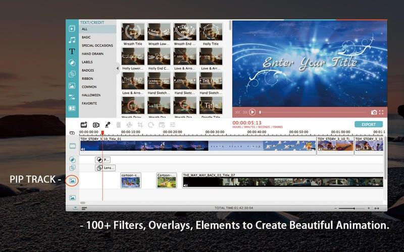 filmora mac - Filmora : un excellent logiciel de montage vidéo Windows & Mac