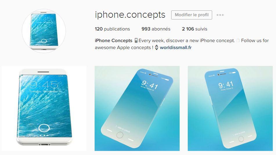 iphone concepts instagram - iPhone 8 : retrouvez tous les concepts sur notre compte Instagram