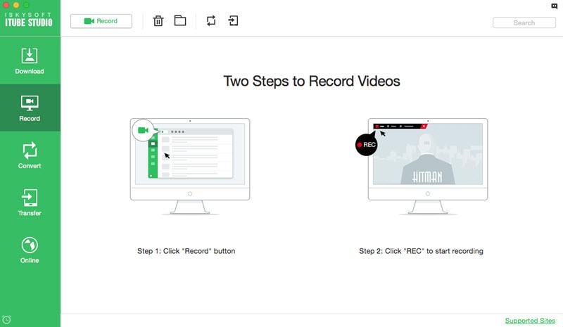 iskysoft itube studio enregistrer - iTube Studio : télécharger et convertir vidéos & musiques sur Mac/Windows