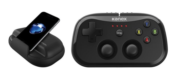 CES 2017 : Kanex dévoile sa manette GoPlay SideKick (iOS & Apple TV)