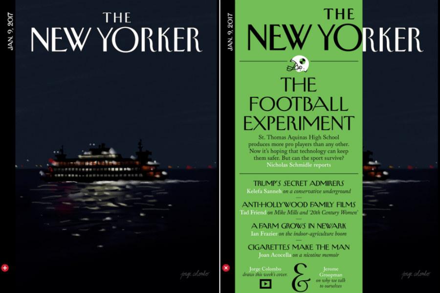 Le New Yorker fait sa couverture avec l'iPad Pro & l'Apple Pencil