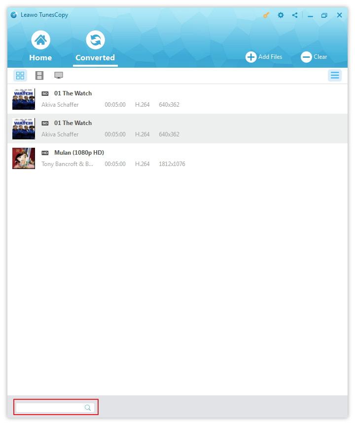 tunescopy drm itunes 2 - TunesCopy : supprimer les DRM iTunes & convertir les M4V en MP4