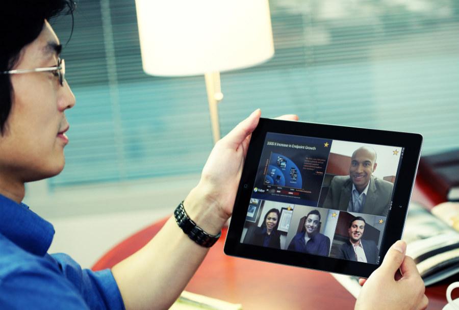 visioconference ipad reunion virtuelle - Comment les réunions virtuelles augmentent-elles l'efficacité ?