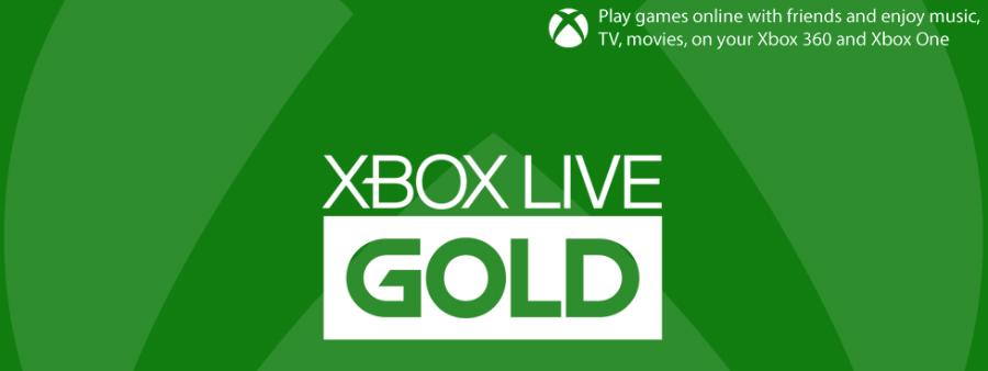 xbox live gold - Xbox Live Gold : 3 mois gratuits pour l'achat d'une Microsoft Xbox One S