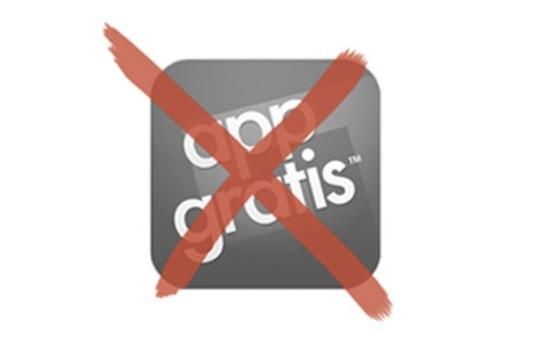 AppGratis fin - AppGratis, le service de promotion d'applications, fait ses adieux