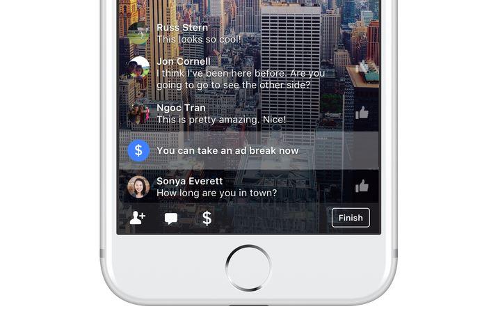 Facebook ad break publicites - Facebook lance les publicités dans les vidéos (en direct & à la demande)