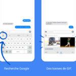 Clavier Gboard (Google) : nouvelles langues, Emoji iOS 10, saisie vocale