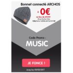 Forfait + Mobile chez NRJ Mobile : un bonnet connecté Archos offert