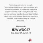 Apple officialise la WWDC 2017 (iOS 11, macOS 10.13, …)
