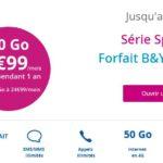 Bouygues : un forfait B&You avec 50 Go d'Internet à 9,99€/mois