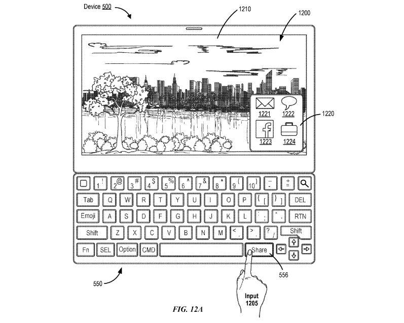 iPad brevet apple clavier emoji - Brevet Apple : un clavier iPad Pro avec des touches pour Siri & les Emoji ?