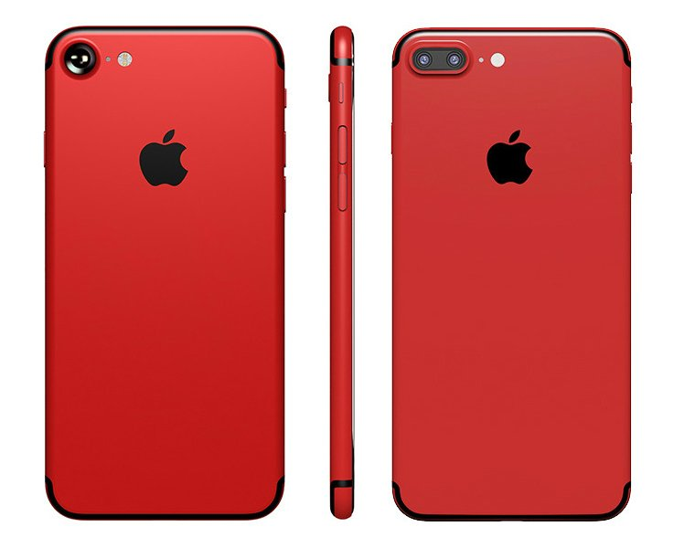 iPhone 7 7 Plus Rouge customise - Keynote Apple de mars : iPhone 7 rouge, 4 iPad Pro, iPhone SE 128 Go ?