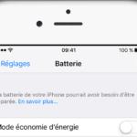 iOS 10.2.1 : problèmes de batterie corrigés, alerte en cas de panne