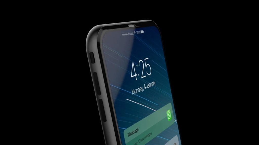 iphone 8 concept ios 11 conceptsiphone 1024x576 - iPhone 8 : un joli concept sous iOS 11 avec Touch Bar