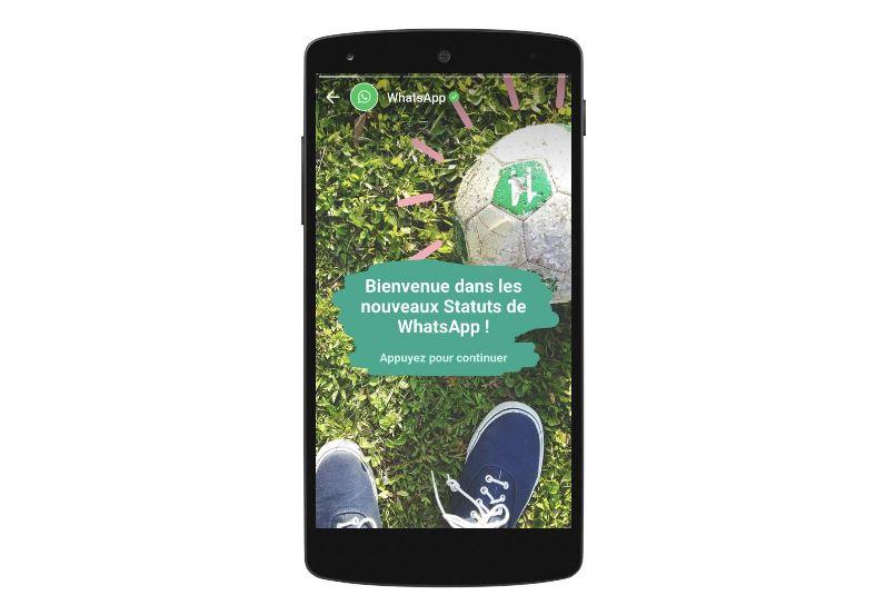 Après les Stories Snapchat & Instagram, les Statuts WhatsApp