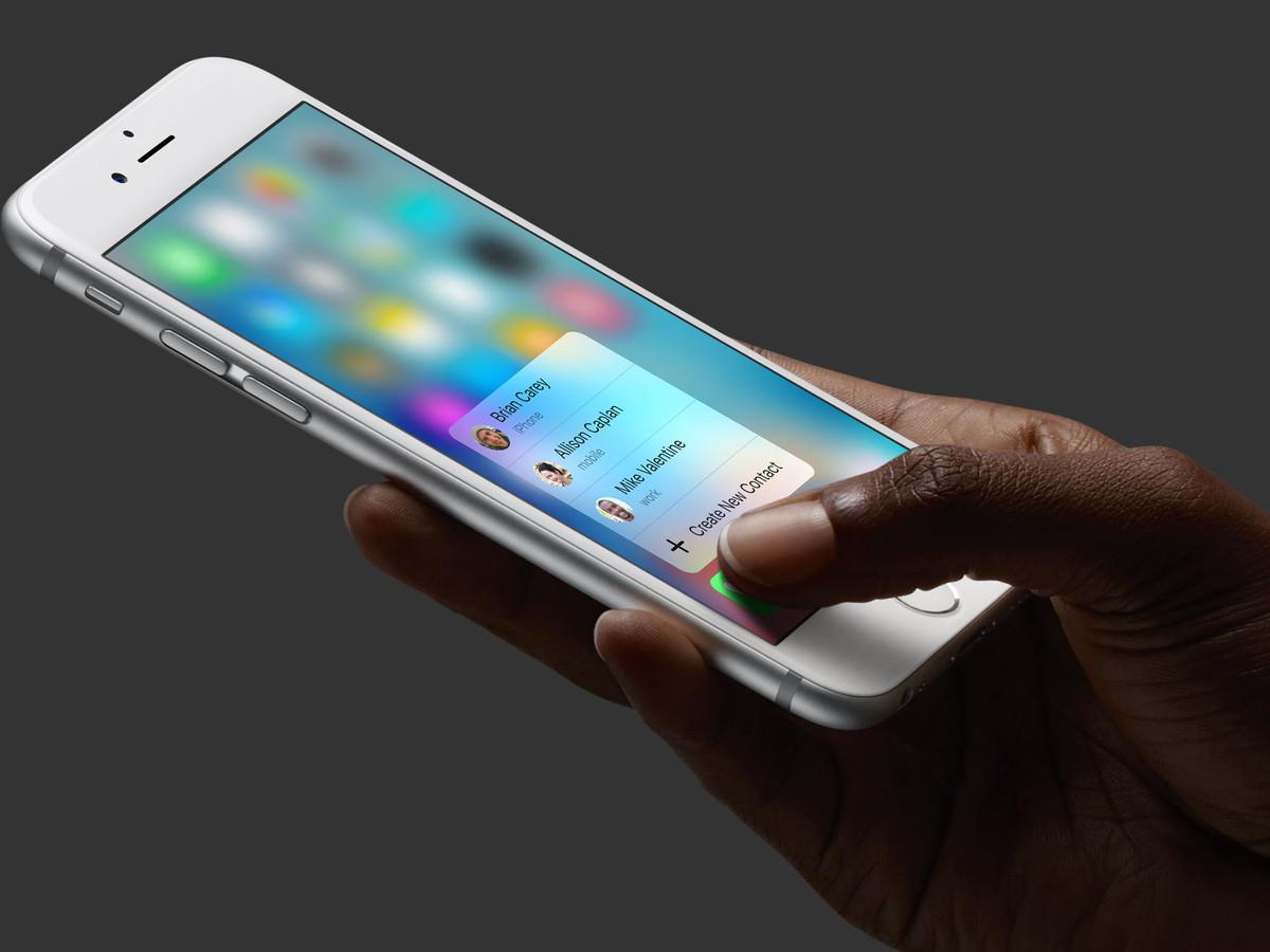 3d touch iphone 6s - iPhone 7S & iPhone 8 : un nouveau système de 3D Touch plus coûteux ?