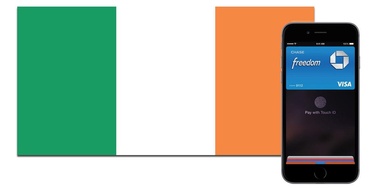 Apple Pay est disponible en Irlande