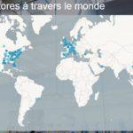 Infographie animée : les Apple Stores dans le monde depuis 2001