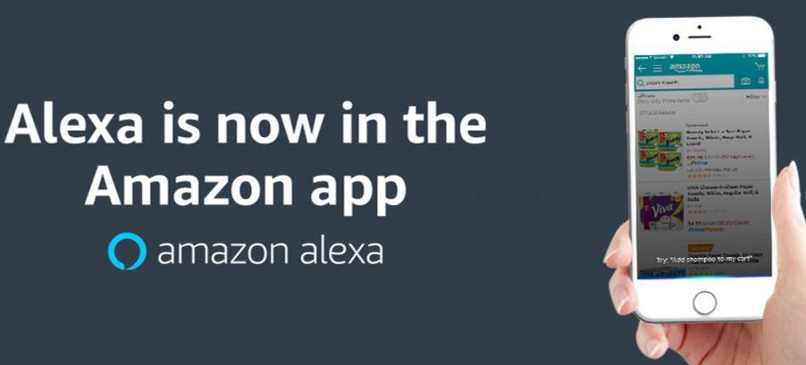 Amazon US/GB : l'application se dote de l'assistant vocal Alexa
