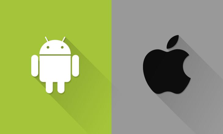 Les stagiaires d'Apple ont des smartphones Android !
