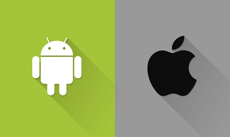android google vs ios apple - Les stagiaires d'Apple ont des smartphones Android !