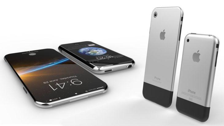iPhone 8 : un concept rendant hommage à l'iPhone Edge