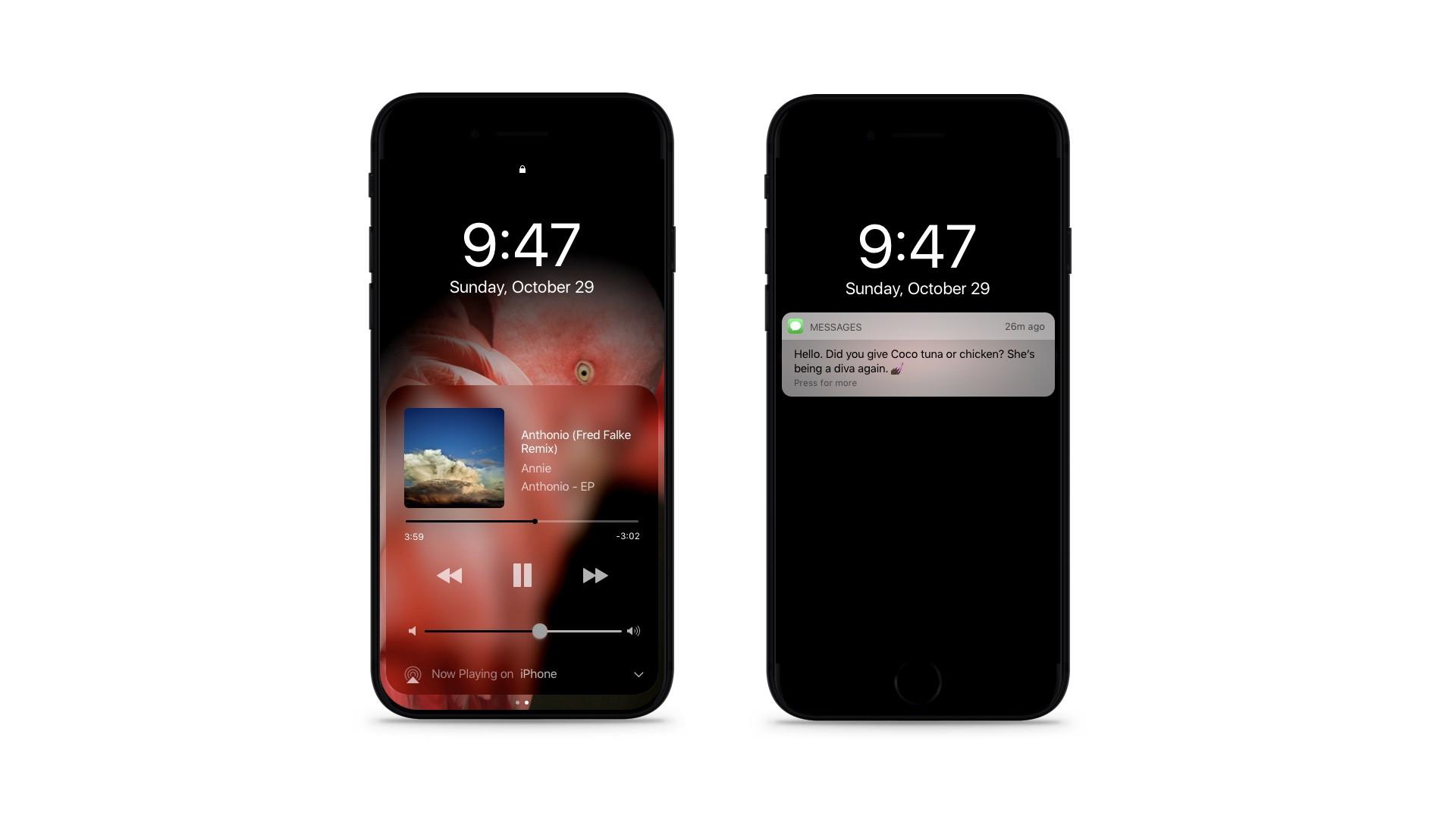 iPhone 8 concept mode sombre - iPhone 8 : un prix finalement situé entre 850 & 1000 dollars ?