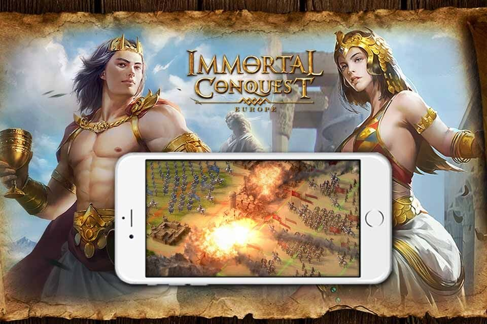immortal conquest europe - Immortal Conquest : Europe disponible sur iOS & Android