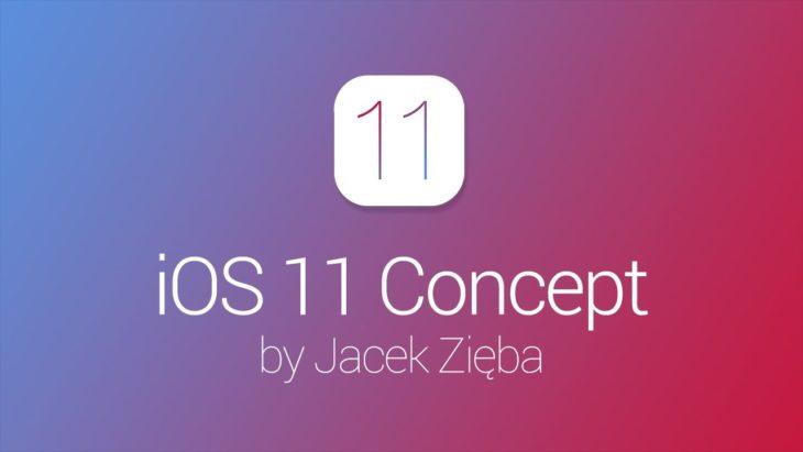 iOS 11 : un concept vidéo en attendant la WWDC 2017