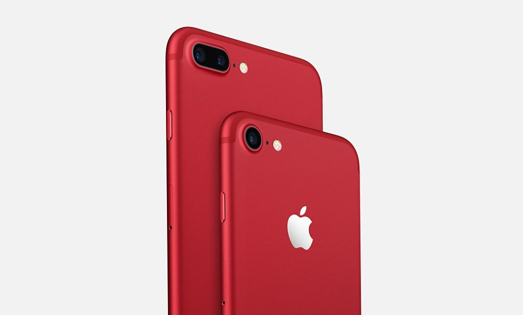 iphone 7 7 plus rouge product red 1024x617 - Apple lance un iPhone 7 & un iPhone 7 Plus rouge (PRODUCT)RED