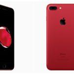 iPhone 7 Plus rouge : un concept avec la façade avant noire
