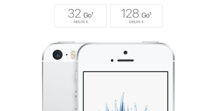 Apple : de nouvelles versions 32 Go & 128 Go pour l'iPhone SE