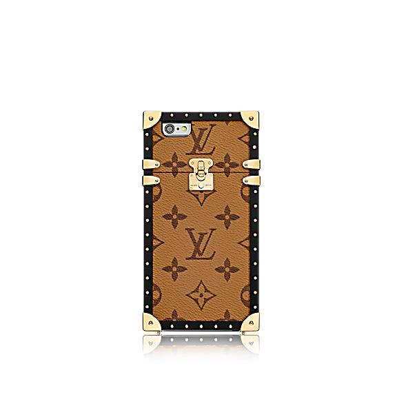 louis vuitton eye trunk iphone 7 monogram reverse - Eye-Trunk : la coque iPhone 7 Louis Vuitton qui atteint 3 800 €
