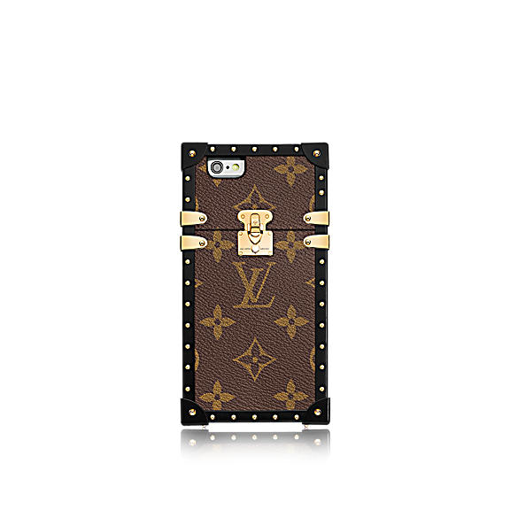 louis vuitton eye trunk iphone 7 toile monogram - Eye-Trunk : la coque iPhone 7 Louis Vuitton qui atteint 3 800 €