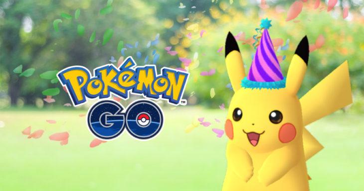 Pokémon GO : 650 millions de téléchargements et des Pikachu festifs