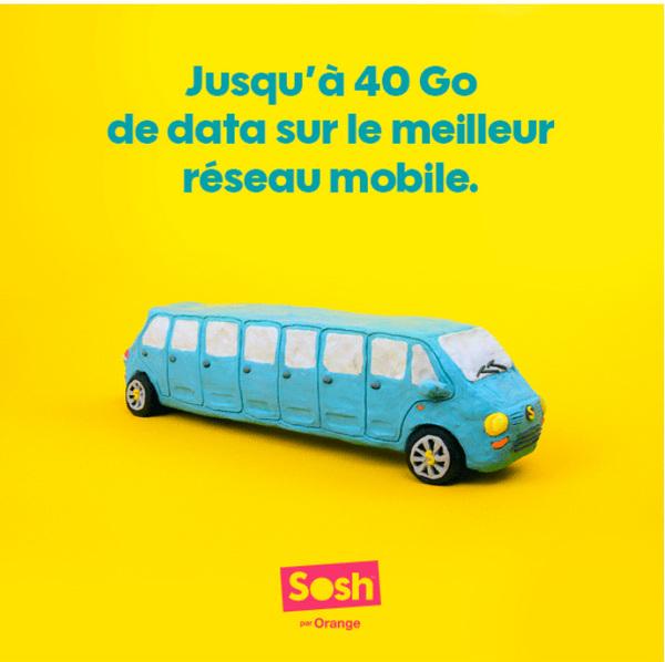 sosh 40 go forfait mobile avril 2017 - Sosh va ajouter jusqu'à 20 Go d'Internet à ses forfaits mobiles