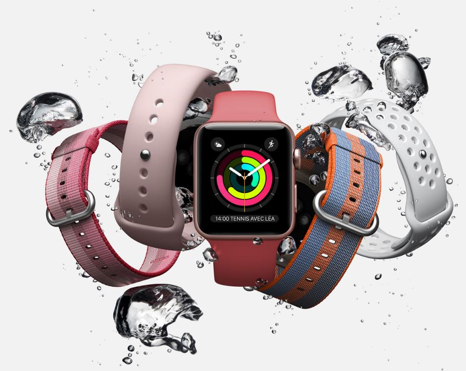 Apple Watch Series 2 bracelets 2017 - Apple Watch : un modèle 4G LTE en développement ?