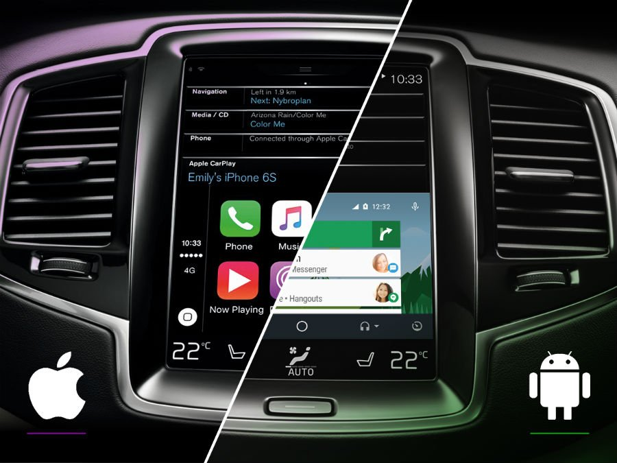 android auto vs apple carplay - CarPlay vs Android Auto : Apple doit encore améliorer Siri