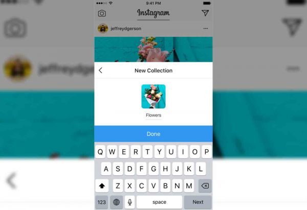 Instagram copie Pinterest et lance les collections
