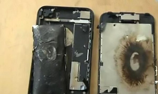 explosion iphone 7 chine - Chine : nouveau cas d'explosion d'un iPhone 7 en charge