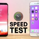 Galaxy S8 vs iPhone 7 Plus : test de rapidité