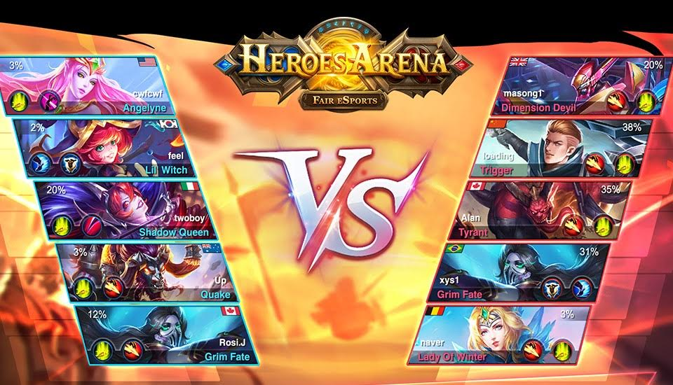 heroes arena - Heroes Arena : le MOBA d'uCool est disponible sur iPhone & iPad