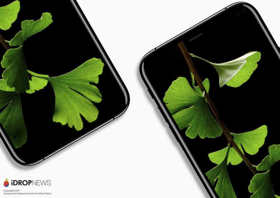 iDropNews iPhone 8 concept borderless 8 - iPhone 8 : nouveau concept borderless avec Touch ID sous l'écran